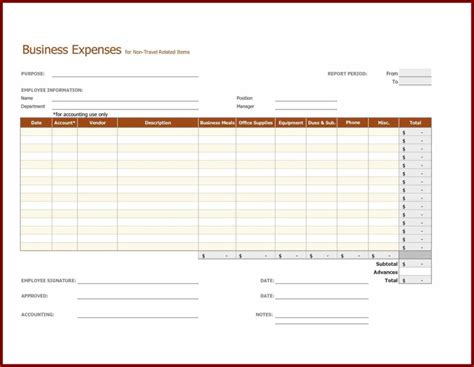 employee expense reimbursement form template employee expense reimbursement form template and petty