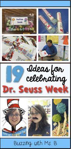 Buzzing With Ms B Bright - dr seuss door decorating contest ideas bookshelf