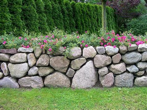 gartengestaltung ideen sichtschutz 4649 natursteinmauer landschaftsbau nord mauern