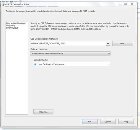 dumping data for table increase performance of ssis package dumping data from