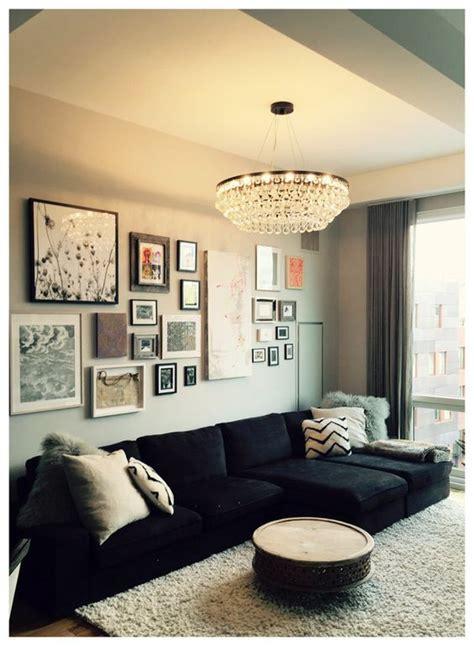 decorar sala sofa preto decora 231 227 o sof 225 preto dicas para deixar sua casa linda