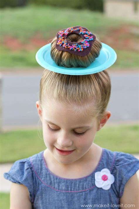 wacky hairstyles for kids wacky hair donut hair 325 clever ideas for quot wacky hair day