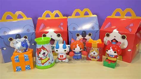 Yokai Orochi Happy Meal Mc Donald yo happy meal toys japanese mcdonalds toys december 2016 my kawaii family