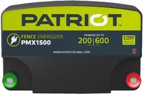 patriot battery charger patriot electric fence chargers electric fencing products