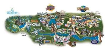 Map Of Universal Studios Orlando by Universal Orlando 174 Resort
