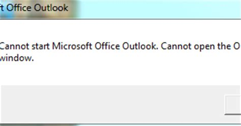 Cannot Start Microsoft Office Outlook Cannot Open The Outlook Window by Technical Tips And Tricks Outlook 2013 Error