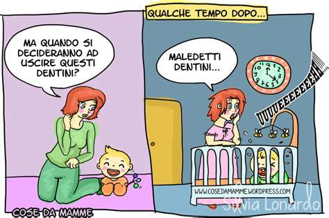 persone fanno l nel letto l arrivo dei dentini cose da mamme