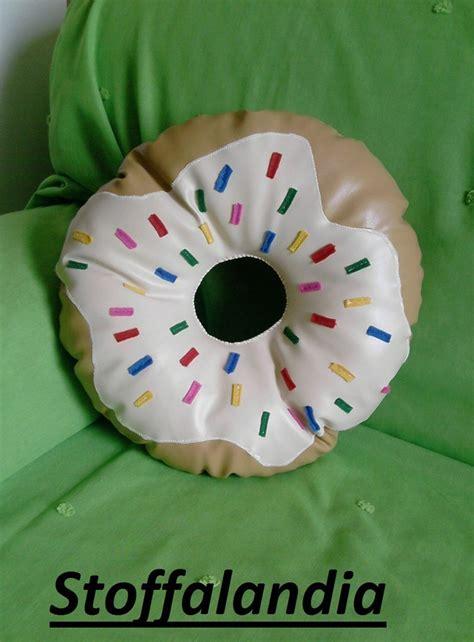 cuscini a biscotto cuscino a biscotto da esterno ciambella idea regalo per