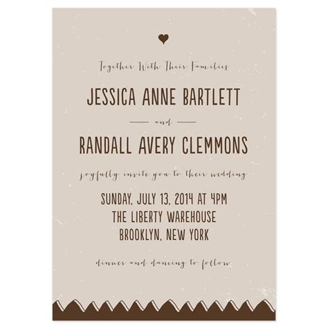 Our Wedding Invitation by 17 Best Ideas About Modern Wedding Invitation Wording On