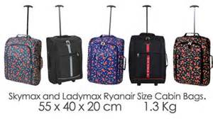 ryanair size cabin bags 0 6kg carry on board luggage