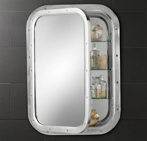 nautical bathroom mirror stylish design ideas for medicine cabinets