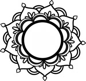 25 simple mandala ideas