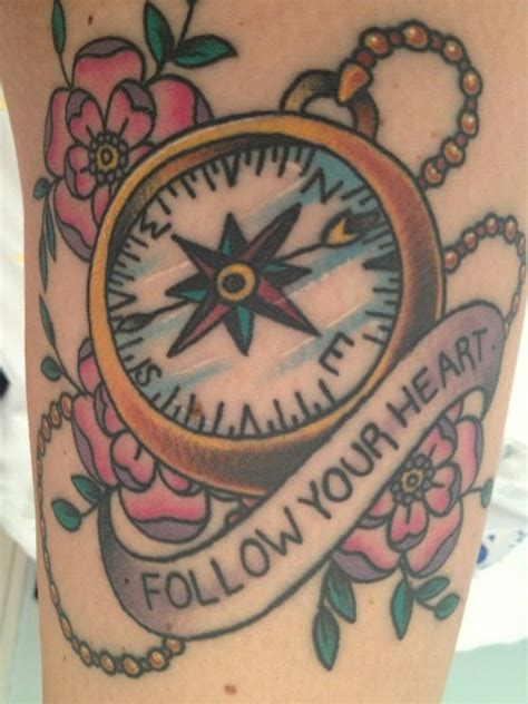 compass tattoo girl tumblr compass tattoo tumblr help is on the way pinterest