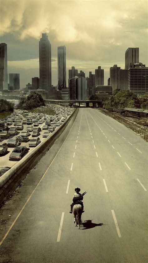 wallpaper android walking dead walking dead atlanta city android wallpaper free download