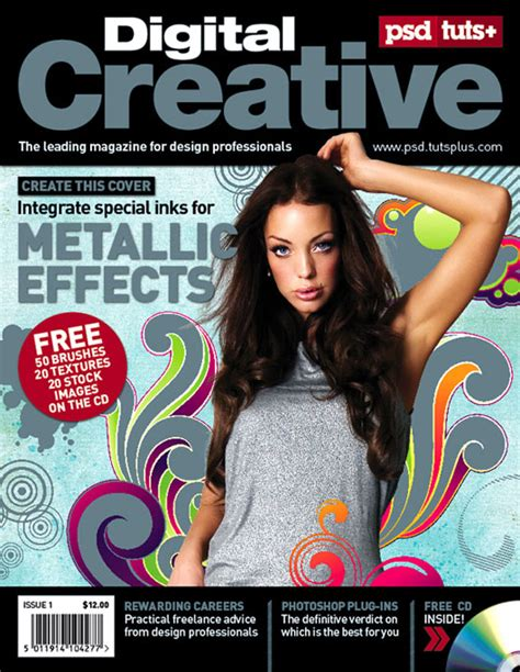 design cover magazine photoshop 8 magazine cover design tutorials tips web graphic