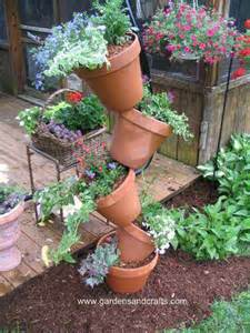 tipsy pot plant tower d amp g gardens and crafts