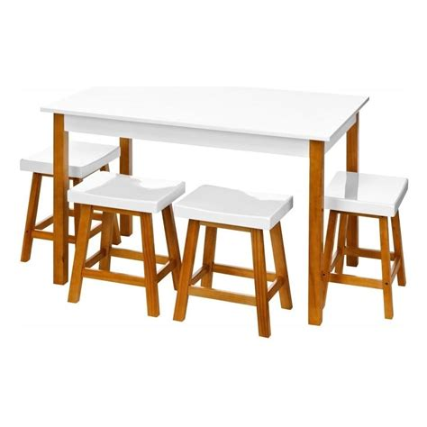 White Dining Tables Uk White High Gloss Dining Table And Four Stools From Fusion Living