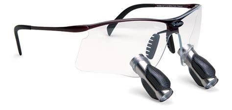 Black Steel Dental Loupe 4 0x 3 5x 4 0x 4 5x prism loupes q optics