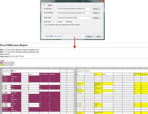 excel compare two tables find only matching data free compare two excel files access filesmojo