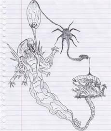 life cycle of an xenomorph by kaijugod on deviantart