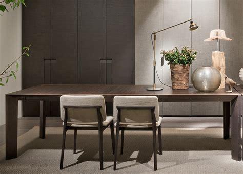 lema thera extending dining table lema furniture   modern