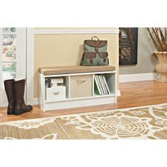 closetmaid bench white to buy for the house on pinterest