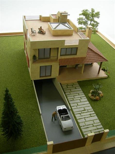 Maket Rumah 25 contoh maket rumah minimalis modern archizone