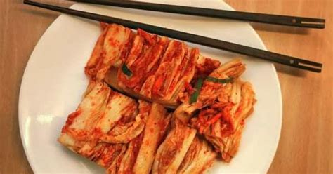 resep  membuat kimchi masakan korea resep masakan