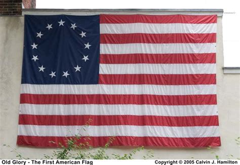 Old Glory   The First American Flag