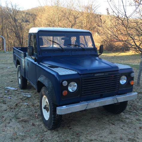 vintage land rover defender 110 land rover defender 110 hi cap pick up 1985 classic land