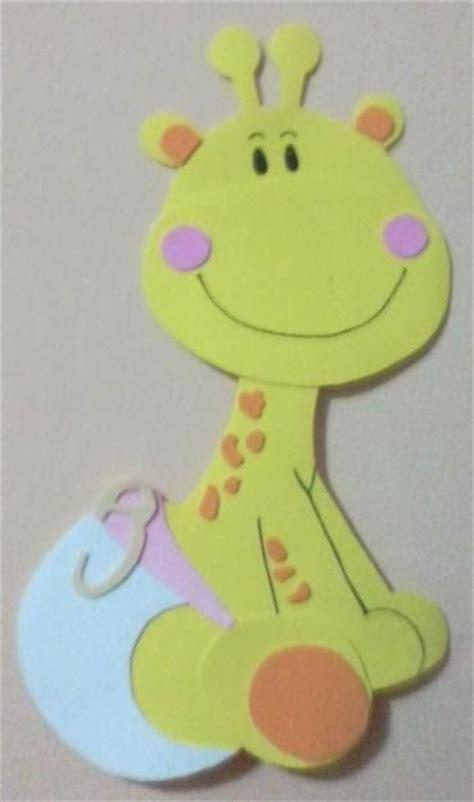 como hacer bebes de foami para baby shower manualidades para baby como hacer una jirafa bebe para baby shower manualidades
