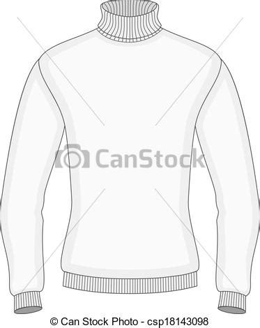 Men S Sweater Design Template Front View Vector Eps Vectors Search Clip Art Sweater Design Template