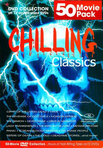 western classics 50 pack 12 50 pack chilling classics 12 disc import dvd