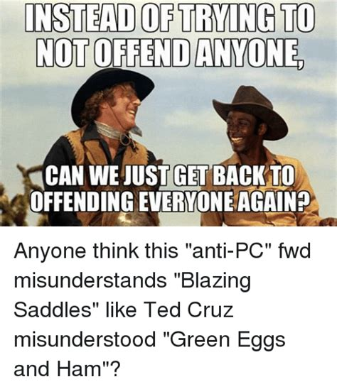 Blazing Saddles Meme - 25 best memes about green eggs and ham green eggs and