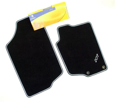 Peugeot 206 Car Mats by Peugeot 207 Carpet Mats Cc Coupe Cabriolet Genuine Peugeot Accessory Item Protection Peugeot