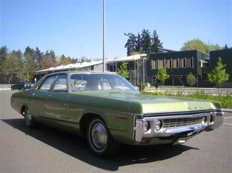 1972 dodge 318 engine 1972 dodge polara sedan 318 v8 used classic dodge for sale
