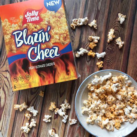 jolly time blazin cheez popcorn review snack gator