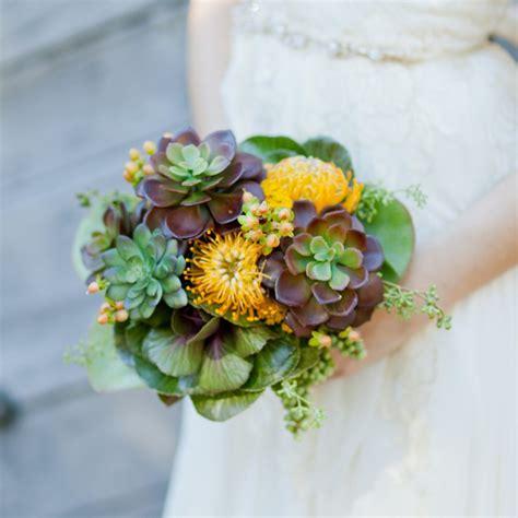 Wedding Flower Ideas Pictures by Alternative Wedding Bouquet Pictures Popsugar Home