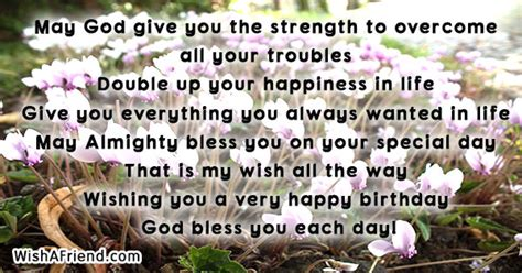 Christian Birthday Quotes For