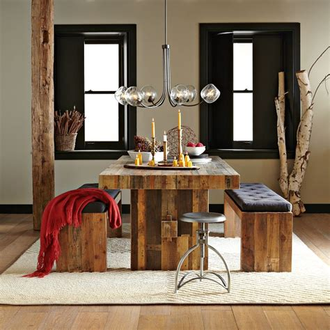 Emerson Table West Elm by For A More Rustic Farm Inspired Style Opt For The West