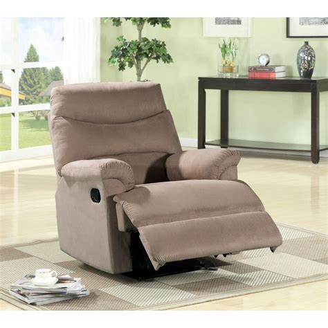 Light Brown Recliner Chair Safavieh Holden Bicast Leather Recliner Chair In Grey