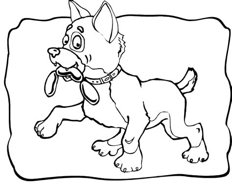 print out coloring pages of dogs pictures of dogs to print