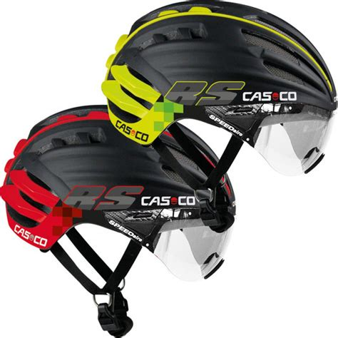 casco design helmet casco speedairo rs helmet with clear visor sigma sports