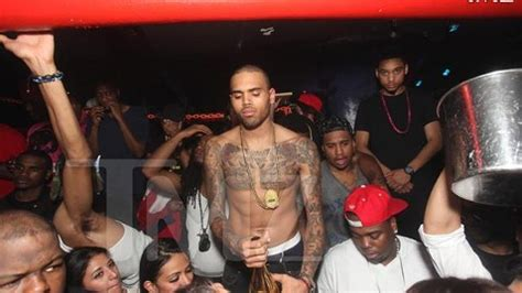 Chris Ayo Otiko Mba by Club Manager Arrested After Chris Brown Brawl
