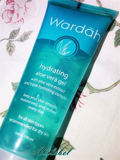 Wardah Hydrating Gel abilabel review wardah hydrating aloe vera gel
