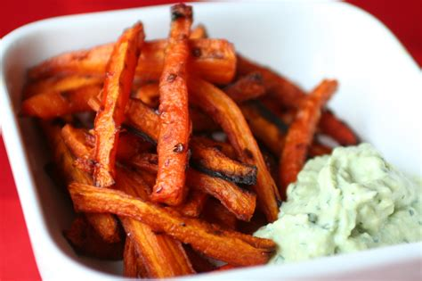 carrot oven fries with chipotle tofu for two