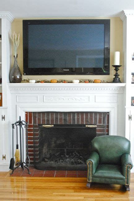 Decorating Fireplace Mantel With Tv Above by 33 Best Living Room Ideas Images On Gas