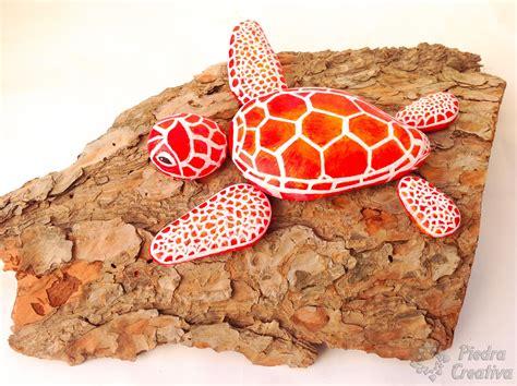 imagenes de uñas pintadas graciosas como hacer una tortuga con piedras pintadas piedracreativa
