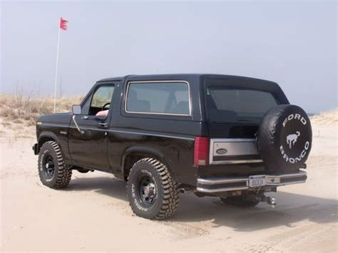 Custom Ford Bronco Ungu find used 1986 ford bronco custom eddie bauer xlt in michigan united states for us