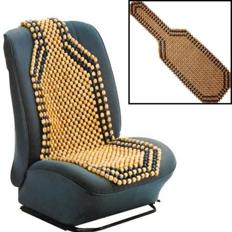 bead seats wooden bead beaded car taxi front seat cover cushion